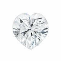 Forever One 1.80CTW Heart Shape Moissanite Gemstone