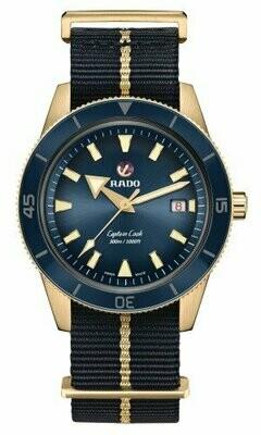Captain Cook Bronze Blue Dial 42MM Automatic R32504207