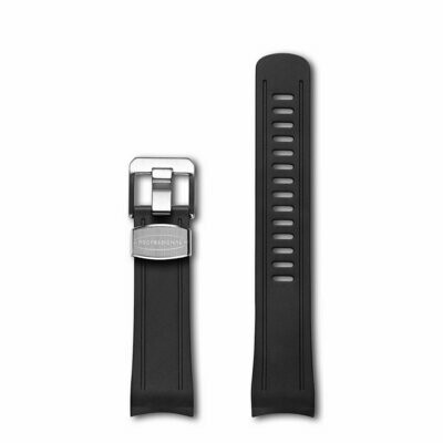 Crafter Blue - Curved End Rubber Strap For Seiko Shogun (CB04)