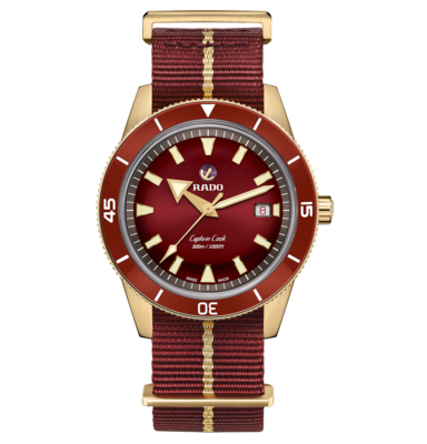 Captain Cook Bronze Red Dial 42MM Automatic R32504407