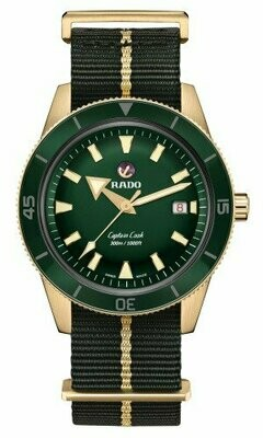 Captain Cook Bronze Green Dial 42MM Automatic R32504317