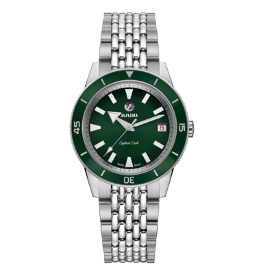Captain Cook Green Dial 37MM Automatic R32500328