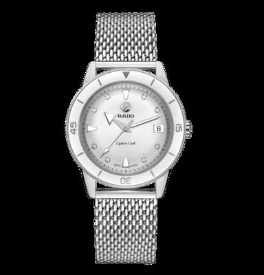 Captain Cook Diamonds White Dial 37MM Automatic R32500703