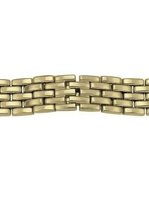 Men's Yellow Gold Watchband 14KT & 18KT