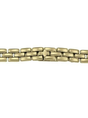 Ladies Yellow Gold Watch Band 14KT & 18KT