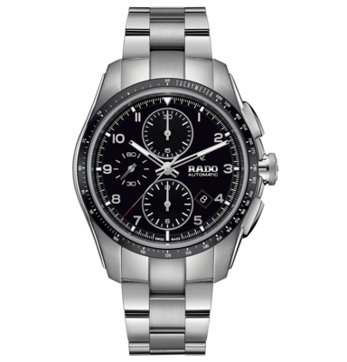 HyperChrome Chronograph Automatic Black Dial 44MM R32042153