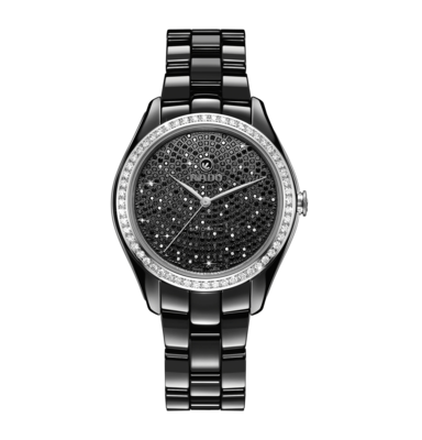 HyperChrome Automatic Diamonds Black Dial 36MM R32482722