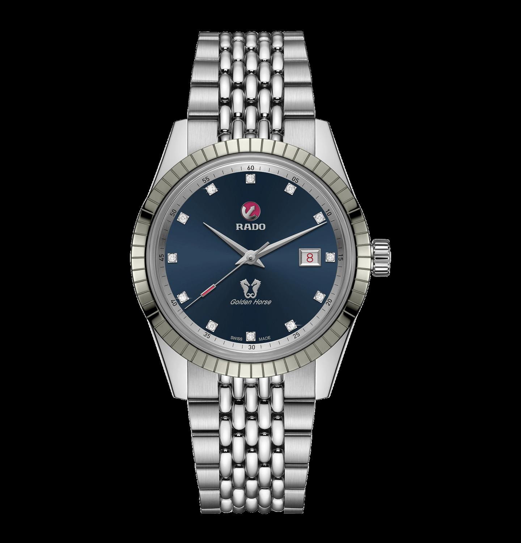 HyperChrome Classic Automatic Diamonds Blue Dial 42MM  R33101713