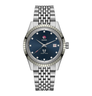 HyperChrome Classic Automatic Diamonds Blue Dial 42MM  R33101713