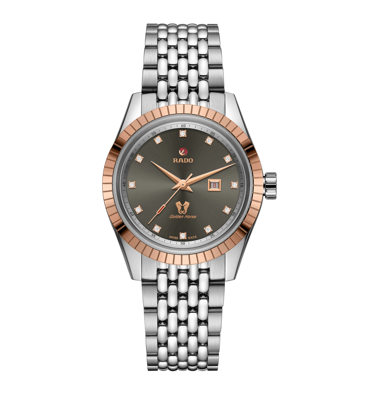 HyperChrome Classic Automatic Diamonds Grey Dial 35MM R33102703