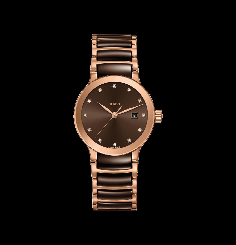 Centrix Brown Dial 28MM Quartz R30555724