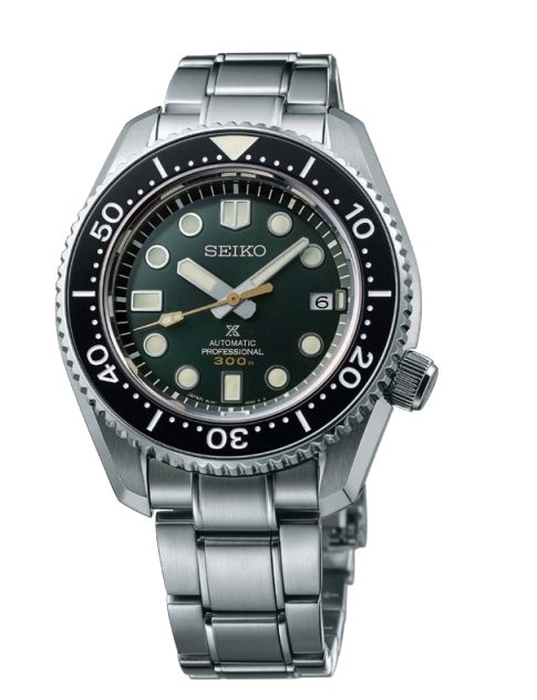 Seiko Prospex MarineMaster 300 Green Dial 44MM Automatic SLA047