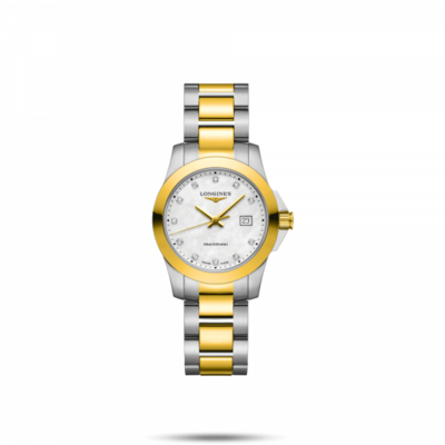 Conquest Mother of Pearl Dial 29.50MM Automatic L33763877