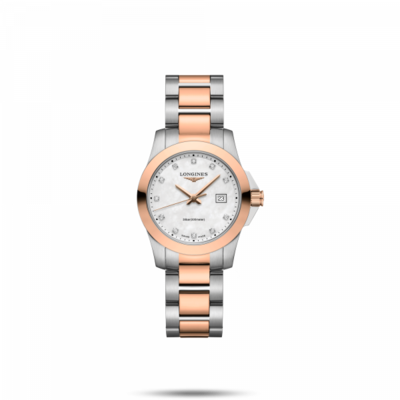 Conquest Mother of Pearl Dial 29.50MM Automatic L33763887