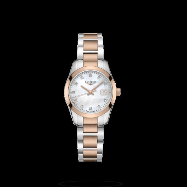 Conquest Classic Mother of Pearl Dial 30MM Quartz L22863877