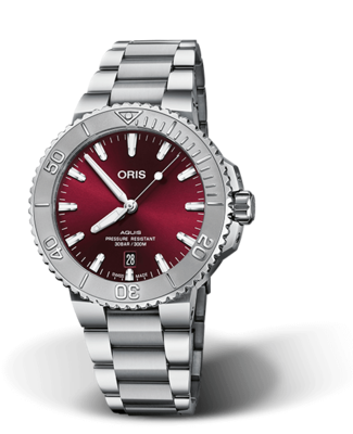 Oris Aquis Date Red Dial 42MM Automatic