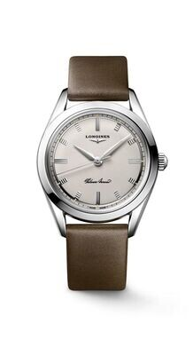 """The Longines Heritage Classic """" The Silver Arrow """" Silver Dial 39MM Automatic L28344722"""
