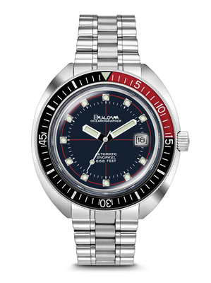 "Oceanographer ""Devil Diver"" Blue Dial 44MM Automatic 98B320"
