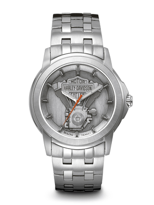 Harley-Davidson Grey Dial 40MM Quartz 76A021