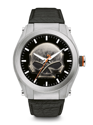 Harley-Davidson Black Dial 39MM Quartz 76A156