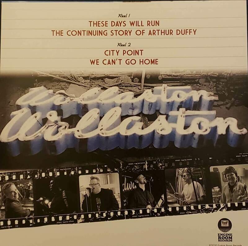 Wollaston Theatre Vinyl EP & TShirt