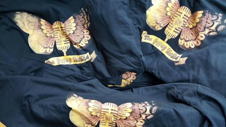 Gypsy Moths Logo T-Shirt