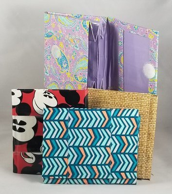 Assorted Duck-tape wallets