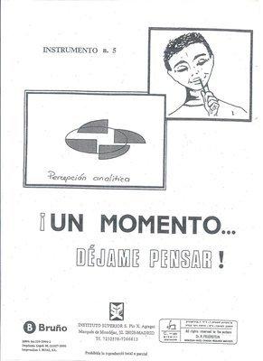 05. PERCEPCION ANALITICA