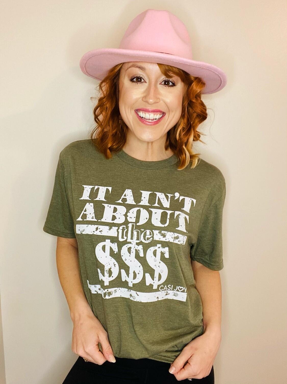 """""""The Money"""" Shirt (Green)"""