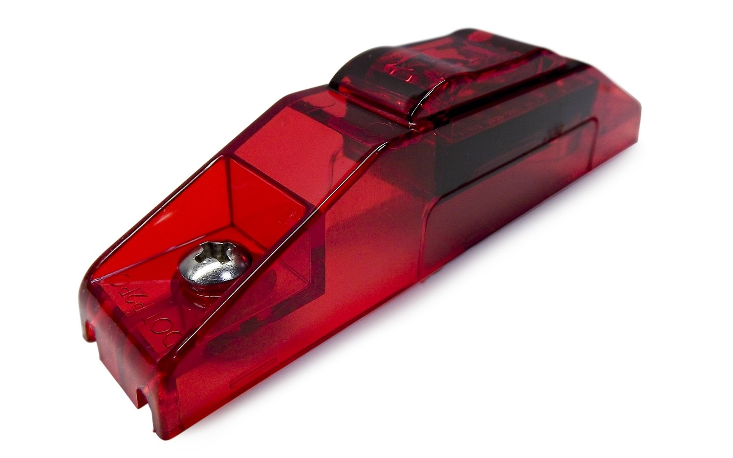 S36 Red PC Sidemarker Clear Lens
