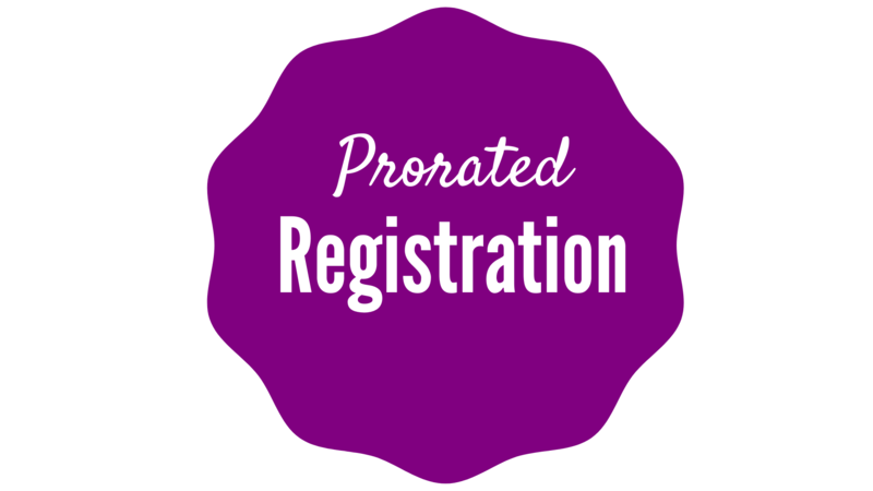 Registration last 2 weeks