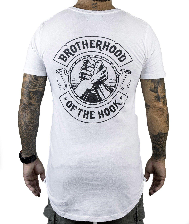BROTHERHOOD OF THE HOOK - Tee shirt / white