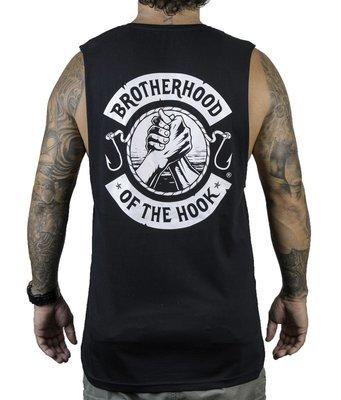 BROTHERHOOD OF THE HOOK - muscle singlet / black