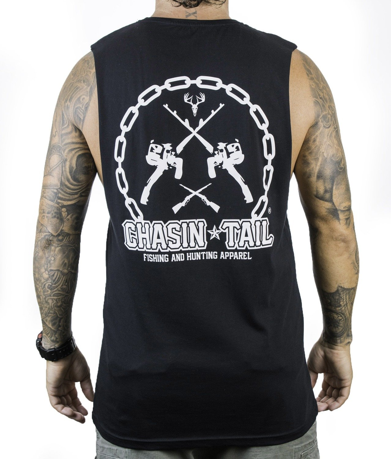 CHASIN TAIL - muscle singlet / Black