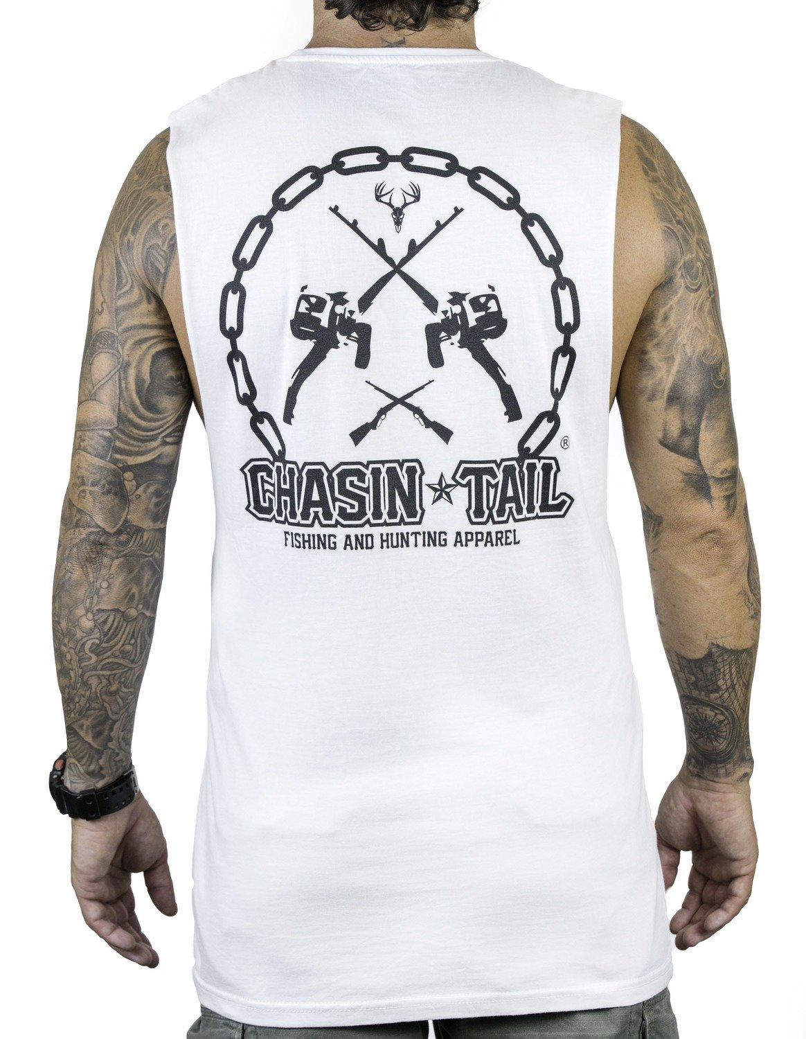 CHASIN TAIL - muscle singlet / white