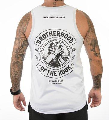 BROTHERHOOD OF THE HOOK singlet / white sublimated