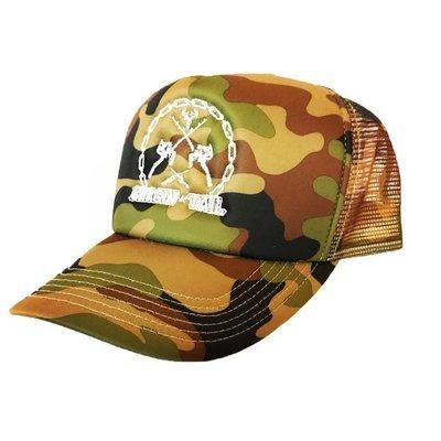 CAMO TRUCKER HAT - Chasin Tail