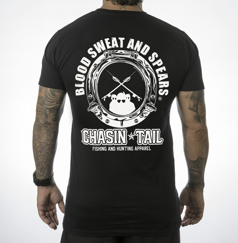 BLOOD SWEAT & SPEARS- Tee shirt / Black