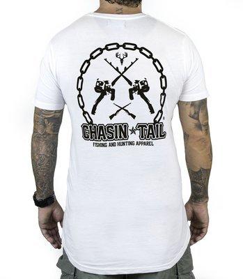 CHASIN TAIL - Tee shirt / White