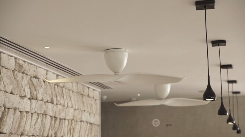 AERATRON AE2+ 50 White Ceiling Fan With Remote
