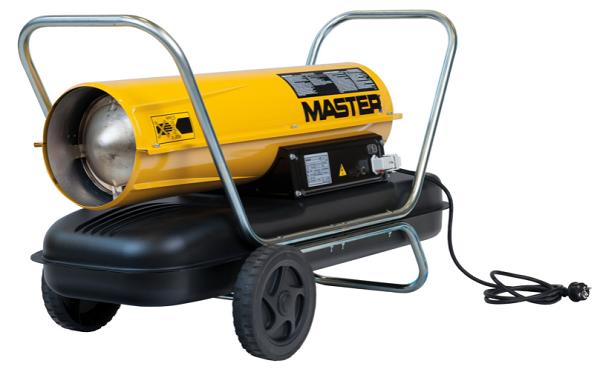 Calentador Industrial Portátil MASTER B100 - B150. Calefacción por zonas a Gasóleo.