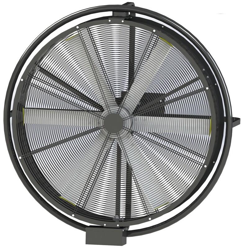 AIRPIVOT - Ventilador de Pared Silencioso