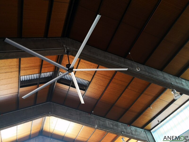 AirMax 400 - Large Industrial Ceiling Fan IP65