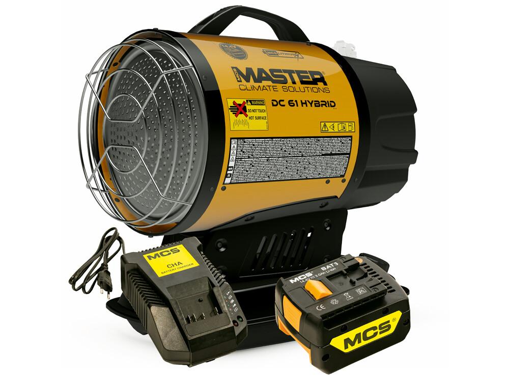 Calefactor Industrial Gasoil híbrido sin cable MASTER DC61