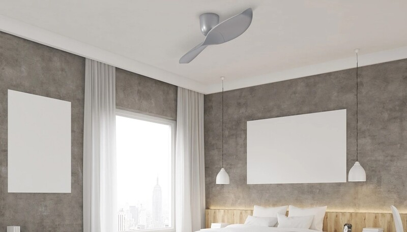 AERATRON AE2+ 60 PLATINO - Ventilador de techo plateado