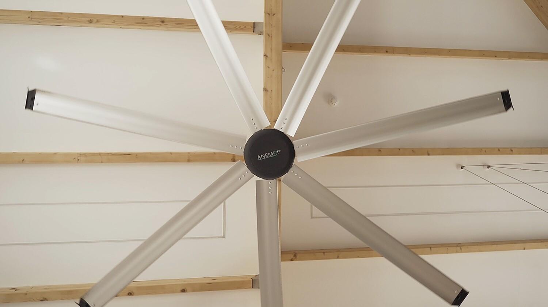 AirPro 250S (100W) - Ventilador de Techo sin Luz con Tecnología HVLS
