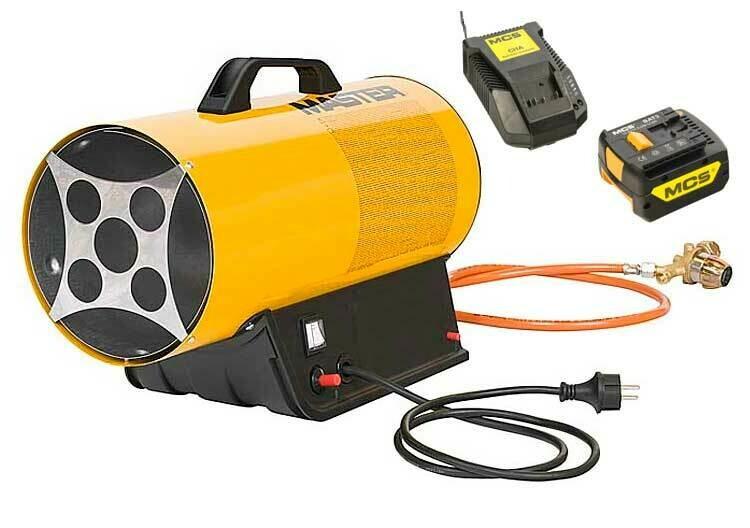Gas portable industrial heater MASTER BLP 17M DC Hybrid