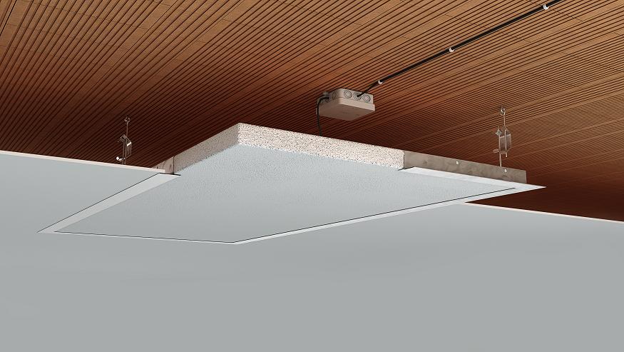 Panel techo radiante VT (Techos registrables)