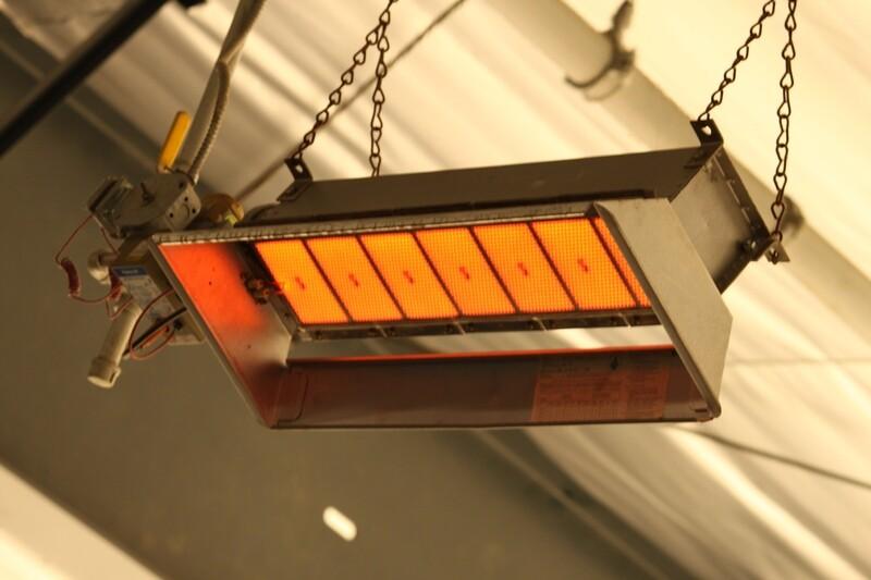 Calefaccion Industrial Gas | Modelo M