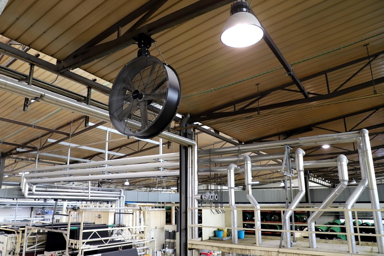 AIRBEAM 100 - Ventiladores de Techo para Naves Industriales
